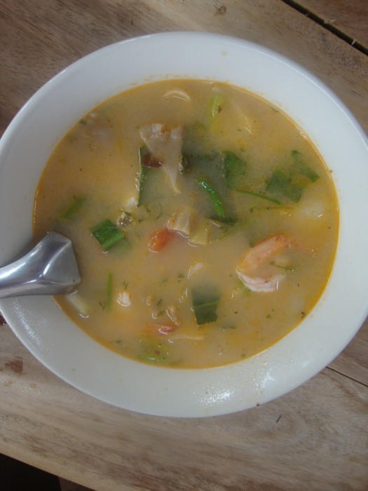 Tom Yum Prawns by Tanya